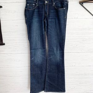 Abercrombie and Fitch Bootcut Jeans